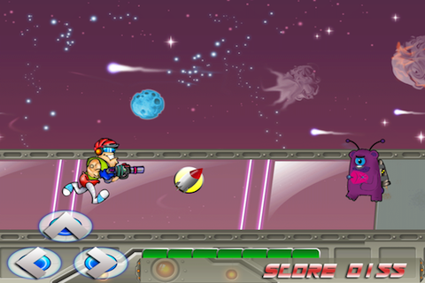 Screenshot Astro Buddy Warrior Lite